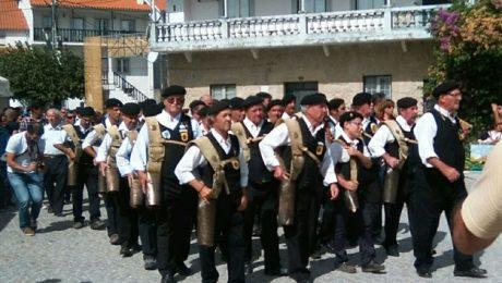 Cultura pastoril de Malpartida de Cáceres en el Festival dos Chocalhos, en Alpedrinha
