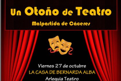 Ciclo de Teatro en Malpartida de Cáceres