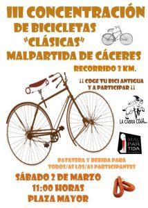 Tercera concentración de Bicicletas Clásicas