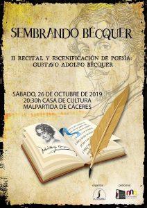 Poesía y cultura en Malpartida de Cáceres