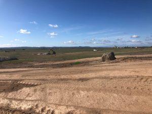 Construcción de nueva planta solar en Malpartida de Cáceres