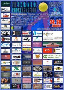 Cartel del VIII Torneo Benefico de Padel