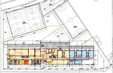 plano nuevo colegio público malpartida de cáceres