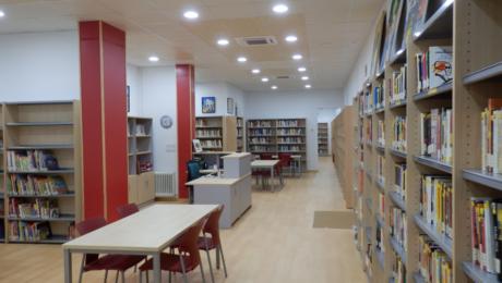 Biblioteca municipal Malpartida de Cáceres